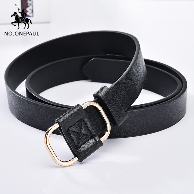 New fashion designer ladies luxury authentic leather belts 3
