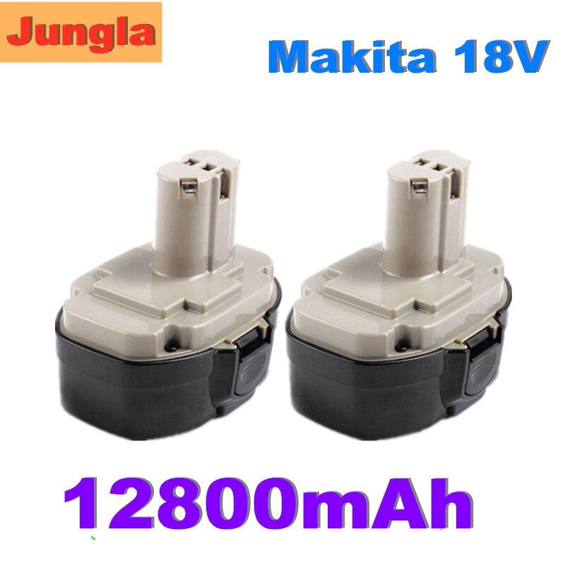 Original 18V 12.8Ah Rechargeable Power tool Battery For Makita 1822 1823 1834 1835 192827-3 192829-9 193159-1 193140-2 193102-0