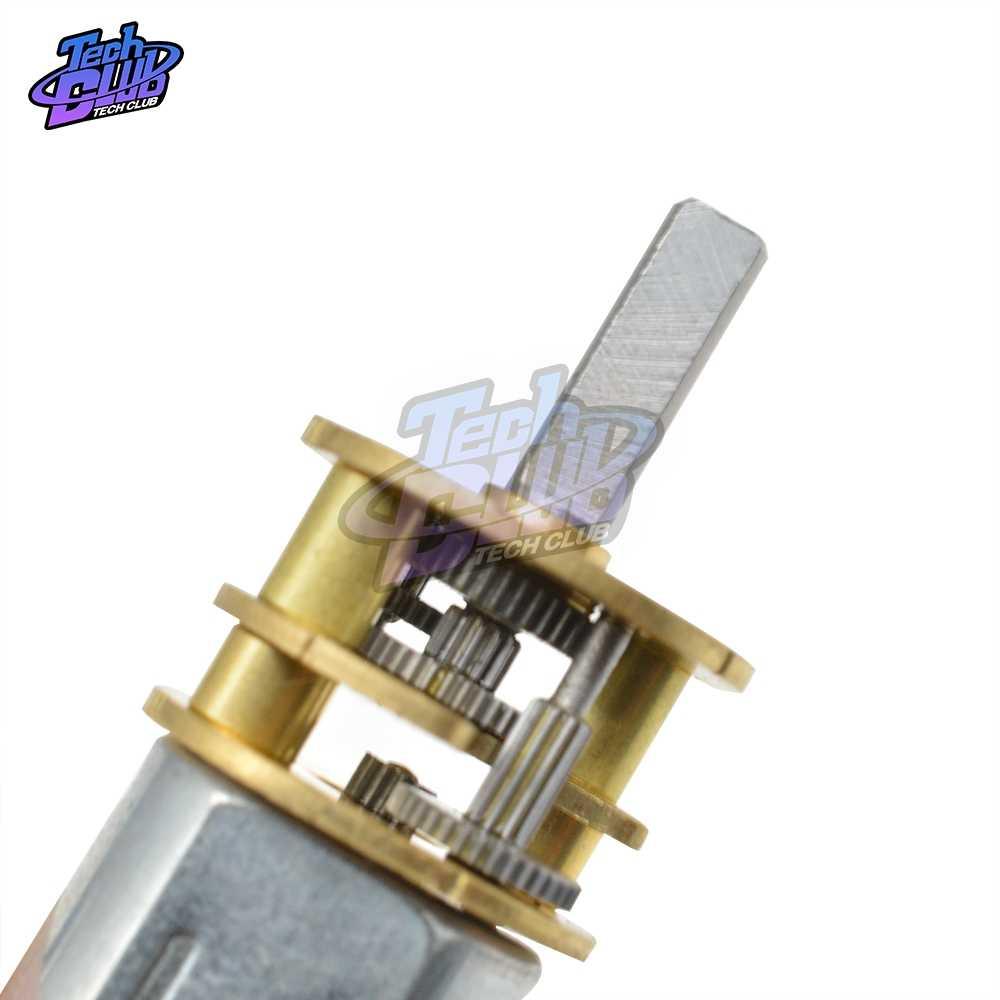 GA13-N20 moteur à courant continu actionneur linéaire 100 tr/min cc 3V 6V 12V réducteur de vitesse pour moteur de décélération de jouet électronique