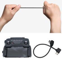 Cable OTG para DJI Mavic 2 Pro Zoom Air Mavic Mini Drone, Cable de extensión de teléfono, conector de datos, accesorio sedal