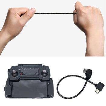 Controller OTG Cable for DJI Mavic 2 Pro Zoom Air Mini Drone Tablet Phone Extension Cord Data line Connector Accessory - discount item  22% OFF Camera & Photo