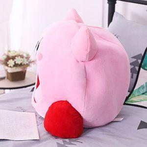 Image 3 - Cartoon Kirby Gefüllte Plüsch Tier Hut Plüsch Puppe Kopfbedeckungen Kissen Nickerchen Baby Geburtstag Spielzeug
