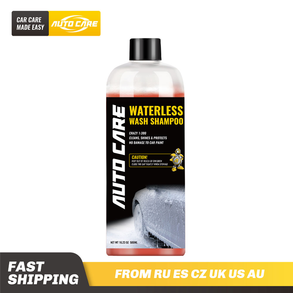 500ml Waterless Car Wash And Wax Shampoo Concentrated 1:300 Snow Foam In A Foam Cannon Or Foam Gun