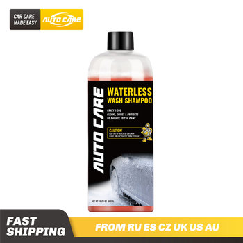500ml Waterless Car Wash and Wax Shampoo Concentrated 1:300 Snow Foam in a foam cannon or foam gun building a virtual graded foam