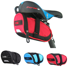 MTB Road Bike Bicycle Bags Bike Saddle Bags Waterproof Nylon Cycling Tail Rear Bag Bicycle Accessories rockbros bicycle saddle bag bike mtb road bike tools seat bag water bottle cycling bag waterproof cycling rear seat tail bag