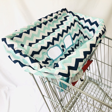 Portable Shopping Cart Cover   High Chair and Grocery Cart Covers for Babies, Kids, Infants & Toddlers ✮ Includes Free Carry Bag