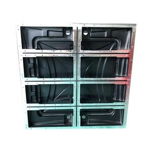 Image 3 - 640x640mm die casting aluminum empty cabinet  P5/P10 indoor outdoor led display screen p5 empty cabinet panel rental