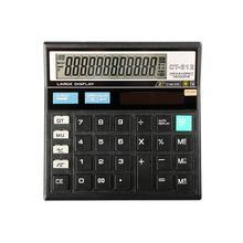 Большой экран Настольный 12 цифровой электронный калькулятор