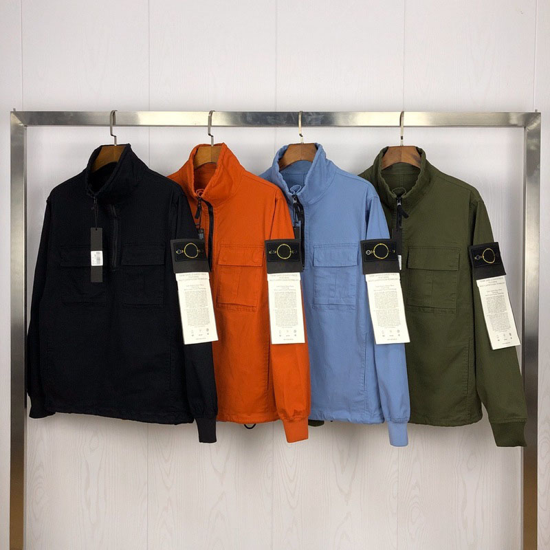 2019FW Best Version Classic Compass Patched Women Men Jacket Windbreaker Hiphop Streetwear Pocket Jacket Coat