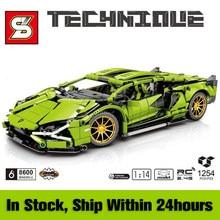 Racing Sports Car Building Blocks MOC Simulation Super Classic Vehicle Model Bricks Kids Toys Boyfriend Gift for Adult