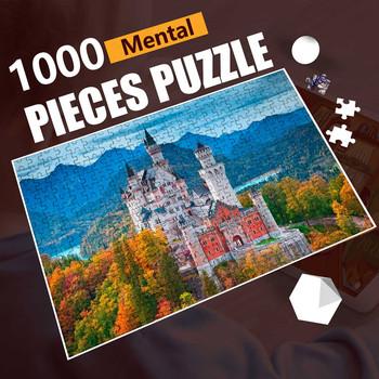 Puzzle 1000 sztuk Puzzle dla dorosłych Puzzle Montessori Puzzle dla dorosłych zabawki edukacyjne dla dorosłych 1000 sztuk Puzzle 3d zabawki antystresowe tanie i dobre opinie CN (pochodzenie) Unisex 3 lat Papier Spersonalizowane układanki Budowa Landscape puzzle puzzle toys best gift