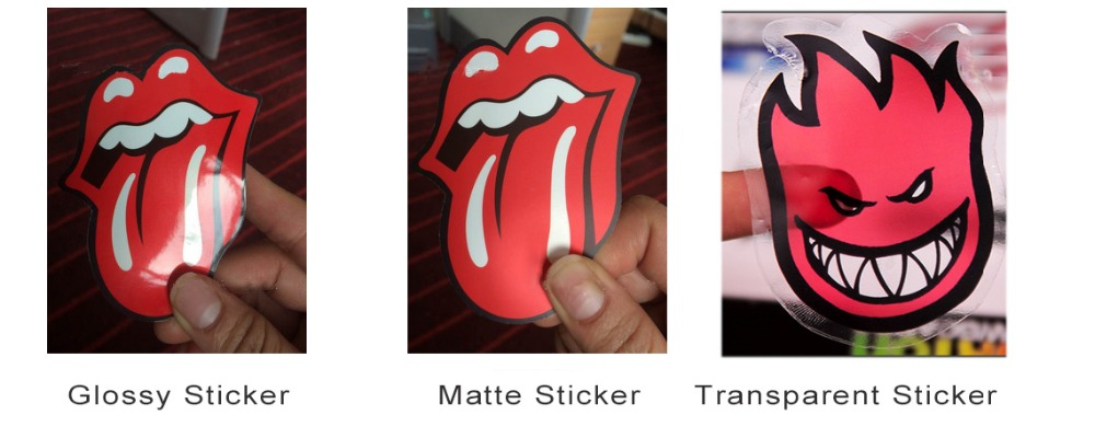 sticker difference