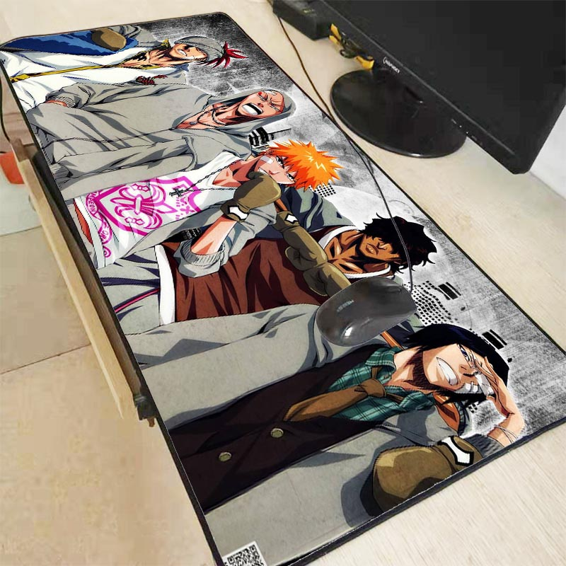 Mairuige Anime Bleach Large Size Mouse Pad Rubber PC Computer Gaming Mousepad Desk Mat for LOL Cs Go DOTA2 with Locking Edge