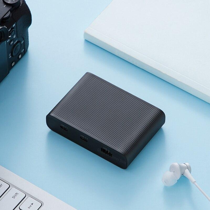Xiaomi Mijia ZMI USB chargeur 65W haute puissance bureau rapide Charge édition adaptateur d'alimentation rapide étude chambre bureau voyage - 5