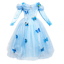 Girls Butterfly Princess Dress Kids Christmas Costume For Girls Clothes Cosplay Costume Children Clothes Vestidos