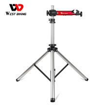 WEST BIKING Professional Bike Repair Stand MTB Road Bicycle Maintenance Repair Tools Adjustable Foldable Storage Display Stand