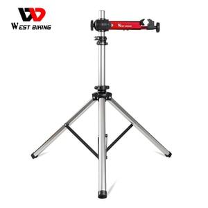 Image 1 - WEST BIKING Professional Bike Repair Stand MTB Road Bicycle Maintenance Repair Tools Adjustable Foldable Storage Display Stand