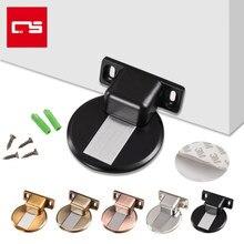 2pcs Magnetic Door Stopper Hidden Non-Punch Sticker Door Holders Waterproof Doorstop for Furniture Hardware Tools Door Stops