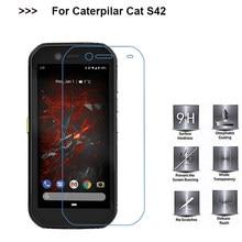 Protetor de tela de película protetora 9d para caterpillar cat s32 vidro temperado para pelicula de vidro cat s42 s 42