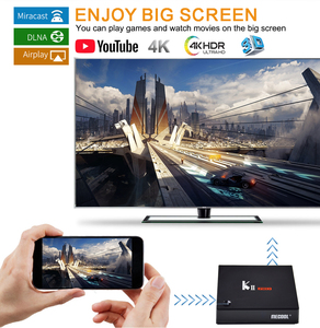Image 4 - MECOOL KII PRO Android 7.1 Boîte de TÉLÉVISION intelligente DVB S2 DVB T2 2 GO + 16 GO 4K lecteur Multimédia Wifi Double Support CCCAM Clines Décodeur