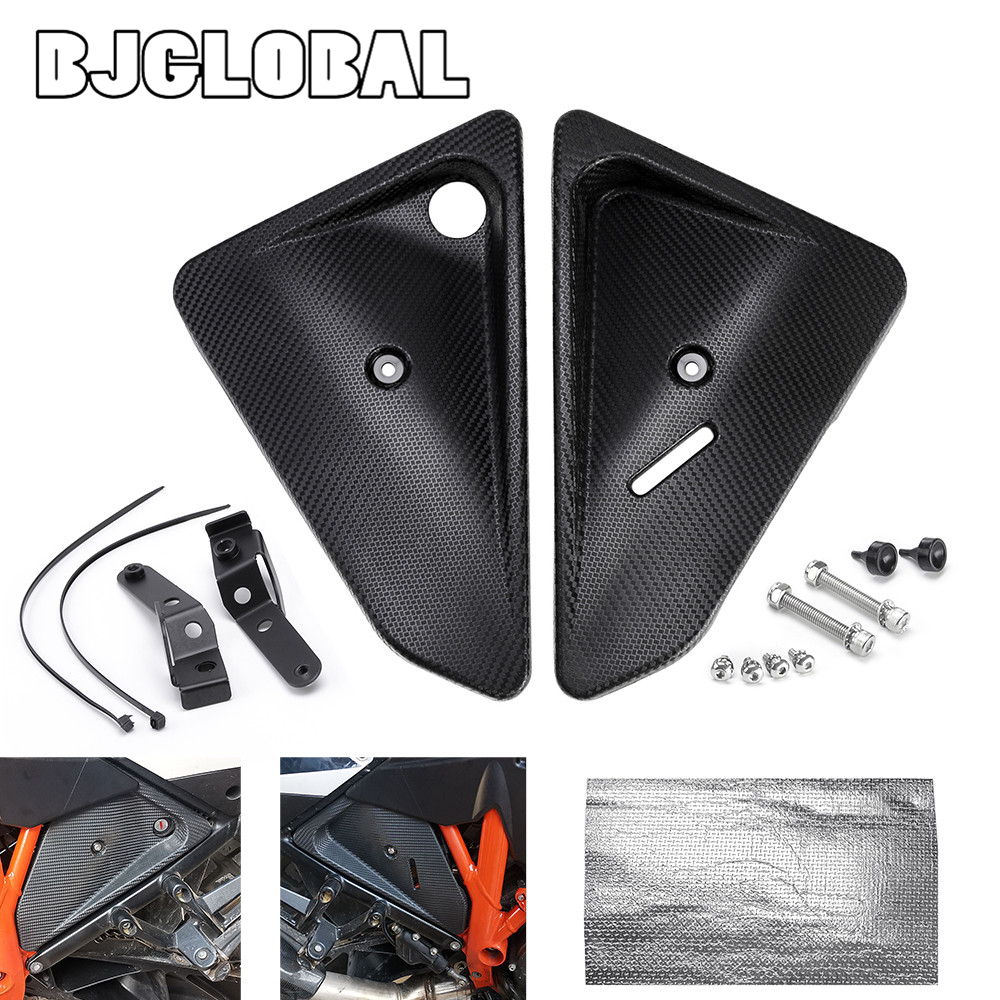 <font><b>2019</b></font> New Fairing Side Cover Protector For <font><b>KTM</b></font> 1050 1190 ADV 1090 <font><b>Adventure</b></font> R <font><b>1290</b></font> <font><b>Super</b></font> <font><b>Adventure</b></font> T/R/<font><b>S</b></font> Motorcycle Accessories image
