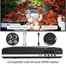 DVD домашний плеер, мультимедийный цифровой Телевизор с поддержкой USB, DVD видео/DVD + RW аудио/VCD/SVCD JEPG/дисковая Система домашнего кинотеатра