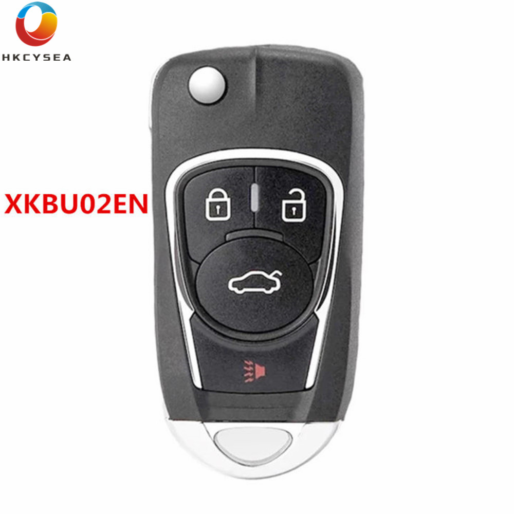 HKCYSEA Английская версия 3 4 кнопки VVDI2 пульт дистанционного управления автомобильный ключ для Xhorse VVDI Key Tool Max VDI Mini XKBU03EN XKBU02EN
