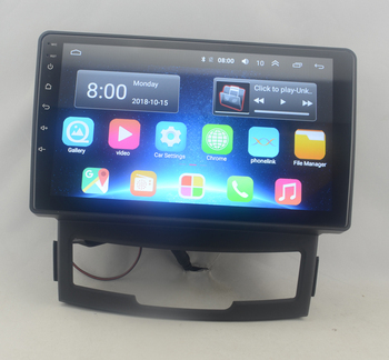 9 octa core 1280*720 QLED screen Android 10 Car radio GPS Navigation for Ssangyong Korando,New Actyon 2011-2013 image