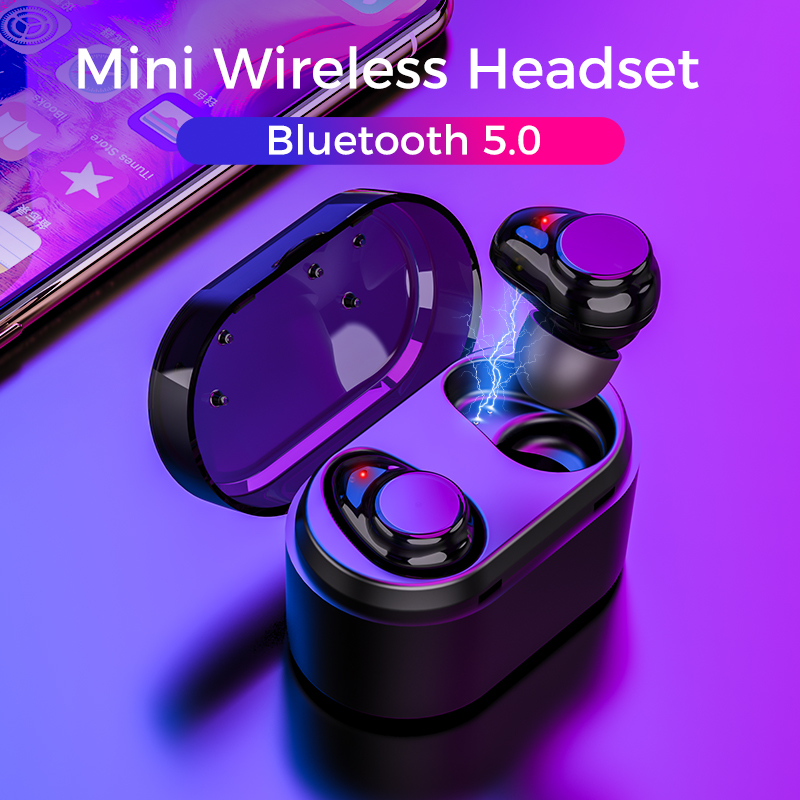 2019 Doboss Wireless Bluetooth 5.0 Earphones Sport Headphones 3D Hifi Stereo Earbuds Headset With Micr Handsfree fone de ouvido rockspace eb30