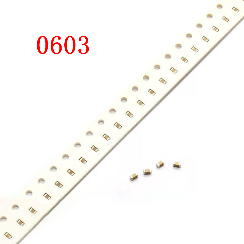 100pieces 0603 50V SMD thick film chip multilayer ceramic <font><b>capacitor</b></font> 1pF-<font><b>22</b></font> <font><b>UF</b></font> 10NF 100NF 1UF 2.2 <font><b>UF</b></font> 4.7 <font><b>UF</b></font> 10UF 1NF 100PF image