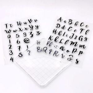 Image 1 - 케이크 도구 새 편지 케이스 번호 알파벳 쿠키 커터 embosser stamp sticky 장식 퐁당 커터 도구 sugarcraft
