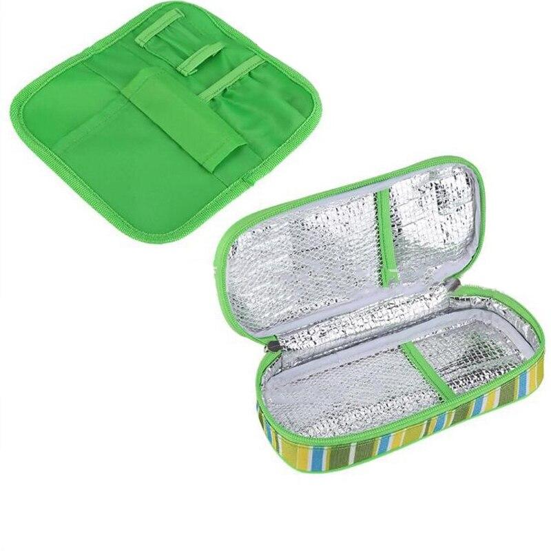 Портативный инсулиновый охладитель Дорожный Чехол для хранения диабетический Органайзер медицинская сумка-холодильник чехол для
