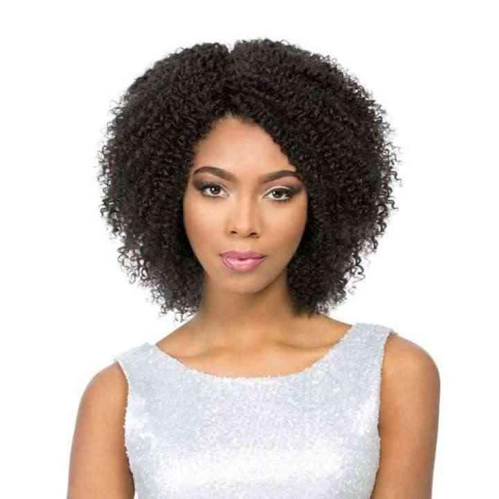 Braziliaanse Dikke Krullend Menselijk Haar Pruik Korte Kinky Krullend Menselijk Haar Pruiken Non-Remy 100% Menselijk Haar Pixie Cut pruik Natuurlijke Zwarte