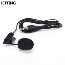 Microphone Lavalier Speaking Mini JETTING No for Speech Lectures Long-Cable Tie-Clip