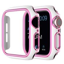 Caja de reloj para Apple Watch serie se 6 5 4 3 2 1 Compatible con iWatch 38mm 40mm 42mm 44mm para Apple Watch