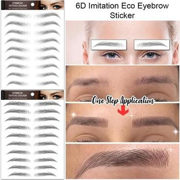 10 Pairs Wenkbrauwen Tattoo Grooming Shaping Brow Shaper Make-Up Brow Wenkbrauwen Sticker Valse