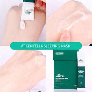 Image 3 - Корейская маска для ухода за кожей лица vt Косметика увлажняющая Вода Спящая кожа маска для лица набор 10 шт, Корейская тушь для ресниц маска для лица