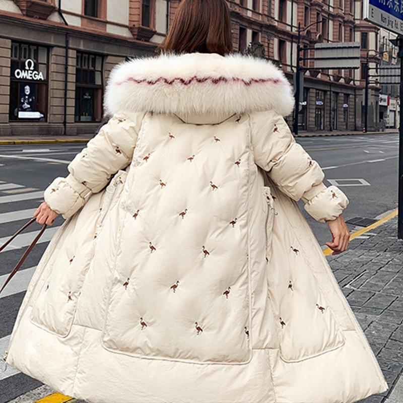 Women's Winter Jacket 2020 Women Parkas Long Korean Ladies Coats and Jackets for Women Female Elegant Down Cotton Casual Hooded|Parkas| - AliExpress