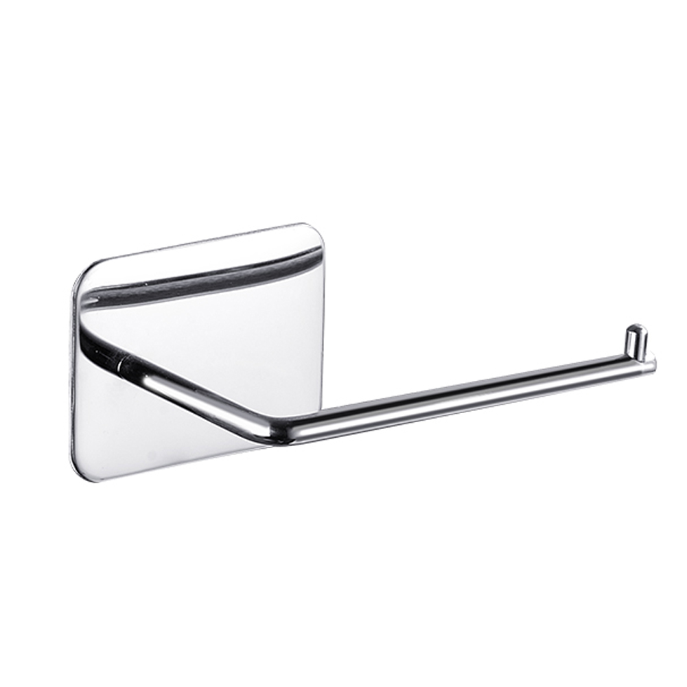 Kitchen Wall Mounted Tissue Shelf Organizer Bracket Hotel Punch Free Toilet Paper Holder Bathroom Accessories Stainless Steel