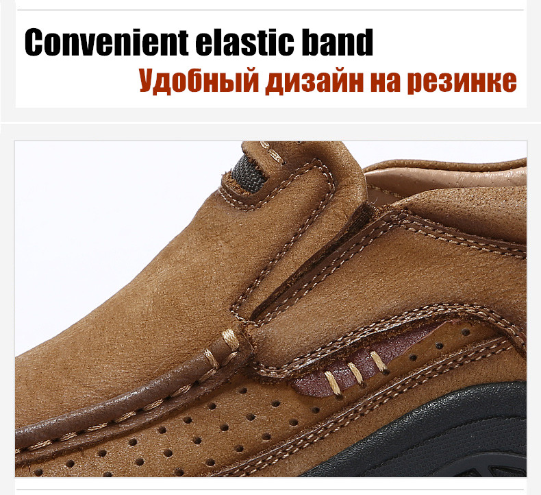 Hed04b95c26644dbf812af55dc4b8253bO ZUNYU New Genuine Leather Loafers Men Moccasin Sneakers Flat High Quality Causal Men Shoes Male Footwear Boat Shoes Size 38-48