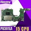 PU301LA материнская плата для ноутбука ASUS PU301LA PU301L PU301 тест оригинальная материнская плата I5 CPU