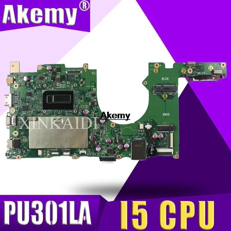 PU301LA Laptop Motherboard For ASUS PU301LA PU301L PU301 Test Original Mainboard I5 CPU