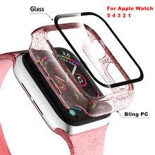 Duoteng Блестящий Прозрачный чехол для apple watch версии 5