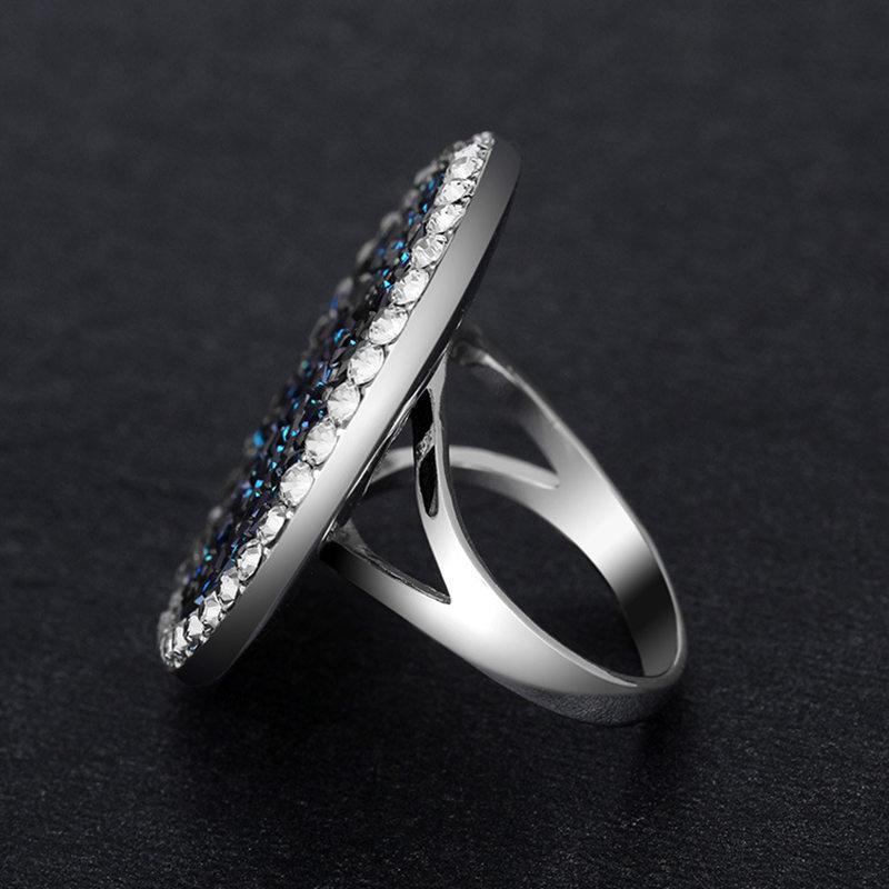Bermuda Blue Stone Female Rings 1