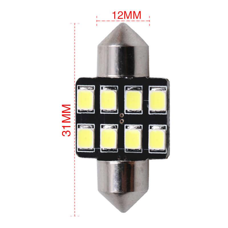 1pc Led 車内灯 Canbus フェストゥーンランプ 12V 6000 18k ホワイト 31 ミリメートル 36 ミリメートル 39 ミリメートル 41 ミリメートル自動電球ドームライト読書駐車ランプ