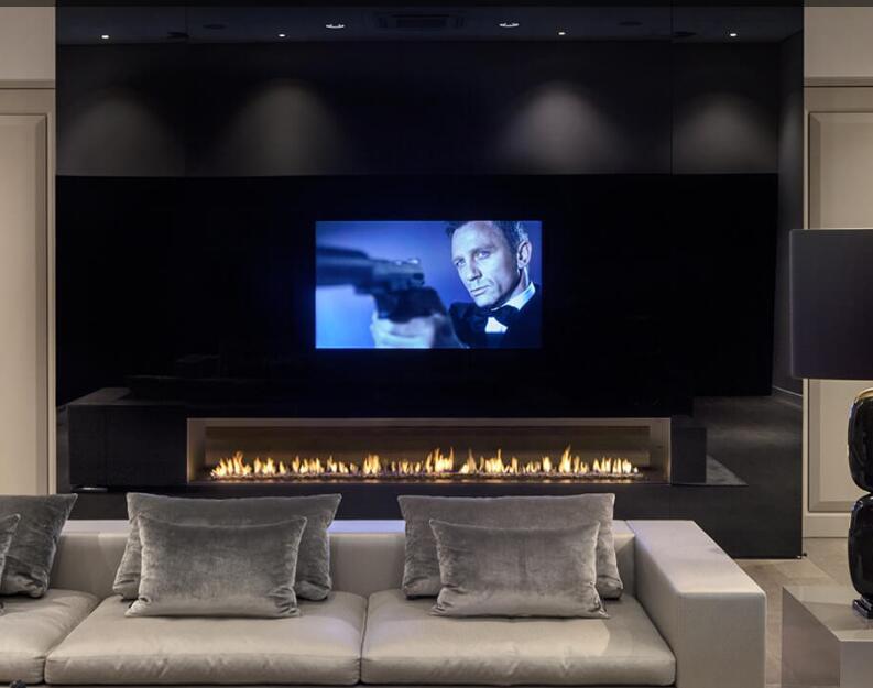 Inno Living  60 Inch Bio Fireplace Remote Control