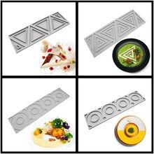 SHENHONG-moule de décoration de gâteaux en Silicone à formes multiples, ustensiles de cuisson pour pâtisserie, Mousse au Dessert, nouveauté