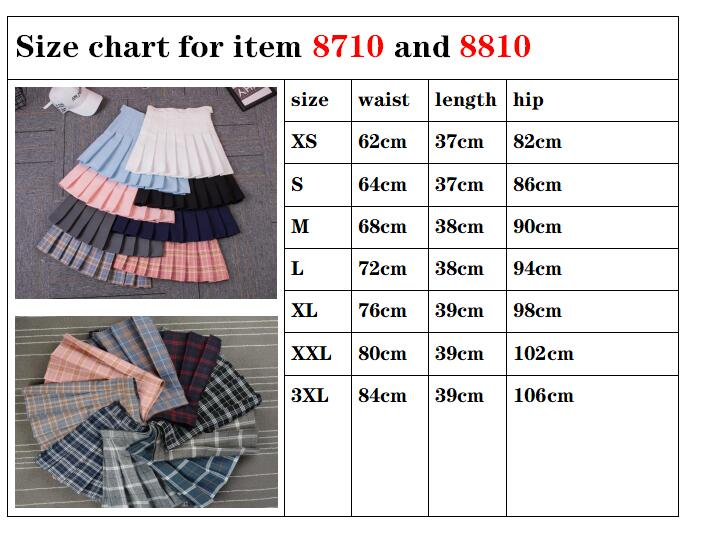 Women Pleat Skirt Harajuku Preppy Style Plaid Skirts Mini Cute Japanese School Uniforms Ladies Jupe Kawaii