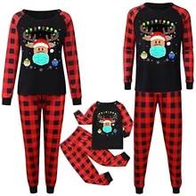 Famille correspondants pyjama Sets Bat Baby Adult Nightwear Halloween Sleepwear Parti