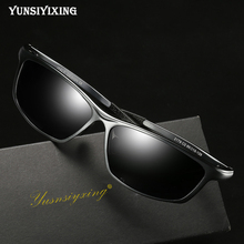 YUNSIYIXING Aluminum Magnesium Men's Sunglasses Polarized Co